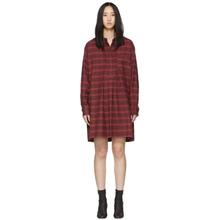 Isabel Marant Étoile | Isabel Marant Etoile Red Flannel Dancy Dress | Clouty
