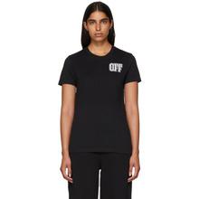 Off-White | Off-White Black Lips T-Shirt | Clouty