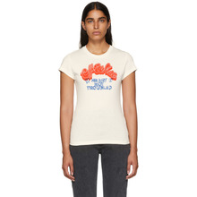 Off-White | Off-White White Heart Not Troubled T-Shirt | Clouty