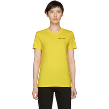 Off-White | Off-White Yellow Casual Quotes T-Shirt | Clouty