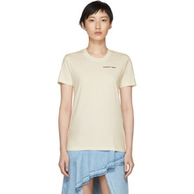 Off-White | Off-White Off-White Casual Quotes T-Shirt | Clouty