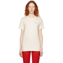 Off-White | Off-White White Gradient Slim Fit T-Shirt | Clouty