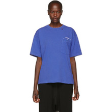 Off-White | Off-White Blue 80s Vintage T-Shirt | Clouty