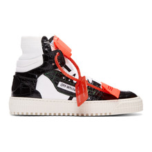 Off-White | Off-White Black and White Low 3.0 Sneakers | Clouty