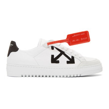 Off-White | Off-White White Leather Sneakers | Clouty