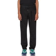 Off-White   Off-White Black Byredo Edition Slim Five-Pocket Jeans   Clouty