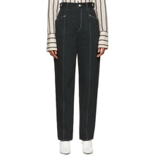 Isabel Marant | Isabel Marant Black Contrast Genie Jeans | Clouty