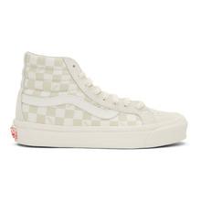 VANS | Vans Beige and Off-White OG Sk8-Hi LX Sneakers | Clouty