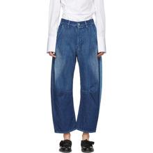 Y's   Ys Blue U-Wide Gusset Jeans   Clouty