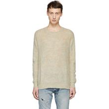 John Elliott | John Elliott Multicolor Brushed Crewneck Sweater | Clouty