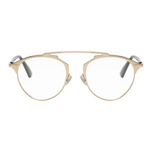 Dior | Dior Gold So Real Optical Glasses | Clouty