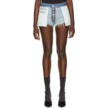 Unravel | Unravel Indigo Reverse Rigid Denim Shorts | Clouty