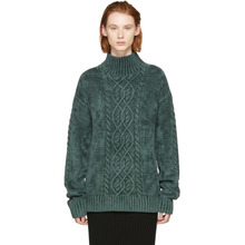 Sies Marjan | Sies Marjan Green Velour Rory Turtleneck | Clouty