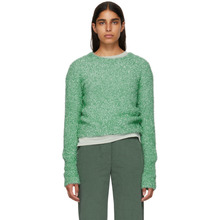 Sies Marjan | Sies Marjan Green Cropped Lurex Courtney Sweater | Clouty