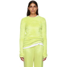 Sies Marjan | Sies Marjan Yellow Dot Crewneck Sweater | Clouty