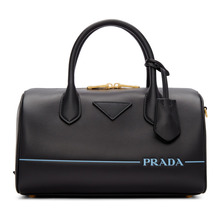 PRADA | Prada Black Mirage Duffle Bag | Clouty
