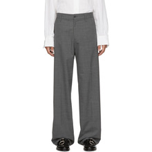 Hope | HOPE Grey Suit Wind Trousers | Clouty