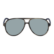 GUCCI | Gucci Grey Sport Pilot Sunglasses | Clouty