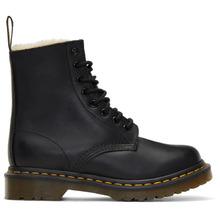Dr. Martens | Dr. Martens Black Fur-Lined Serena Boots | Clouty