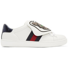 GUCCI | Gucci White New Ace Sneakers | Clouty