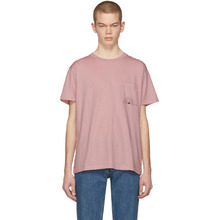 Levi's | Levis Made and Crafted Pink Sun Pocket T-Shirt | Clouty