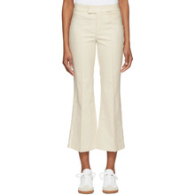 Isabel Marant   Isabel Marant Ecru Lyre Trousers   Clouty