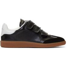 Isabel Marant   Isabel Marant Black Beth Vintage Velcro Sneakers   Clouty