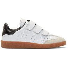 Isabel Marant   Isabel Marant White Beth Vintage Velcro Sneakers   Clouty