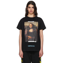 Off-White | Off-White Black Monalisa T-Shirt | Clouty