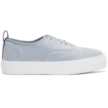 Eytys | Eytys Blue Suede Mother Sneakers | Clouty