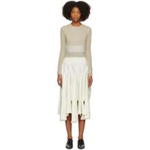 Loewe | Loewe Beige Needle Punch Dress | Clouty