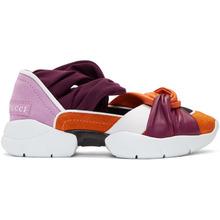 Emilio Pucci | Emilio Pucci Orange and Purple City Ballerina Sneakers | Clouty