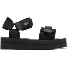 Suicoke   Suicoke Black CEL VPO Sandals   Clouty