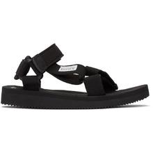 Suicoke   Suicoke Black Depa Sandals   Clouty