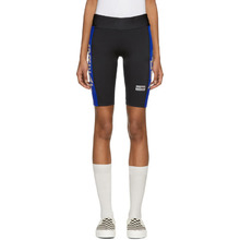 Martine Rose | Martine Rose Black Great Idea Cycling Shorts | Clouty