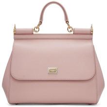 Dolce & Gabbana | Dolce and Gabbana Pink Medium Miss Sicily Bag | Clouty