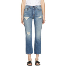 RAG & BONE | Rag and Bone Blue Ankle Straight Jeans | Clouty