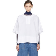 Acne Studios | Acne Studios White Lhena Blouse | Clouty