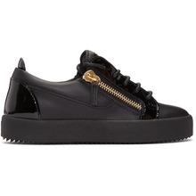 Giuseppe Zanotti   Giuseppe Zanotti Black May London Sneakers   Clouty