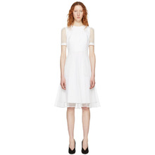 GIVENCHY | Givenchy White Layered Tulle Dress | Clouty