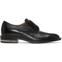 GIVENCHY | Givenchy Black Chain Oxfords | Clouty