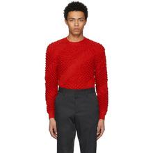 KENZO | Kenzo Red Heat Bubble Knit Sweater | Clouty