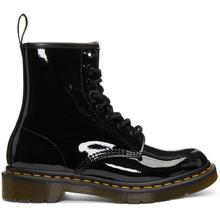 Dr. Martens | Dr. Martens Black Patent 1460 Boots | Clouty