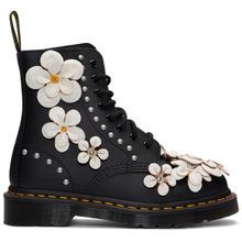 Dr. Martens | Dr. Martens Black Pascal Flower Boots | Clouty
