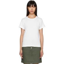 A.P.C. | A.P.C. White Daniela T-Shirt | Clouty