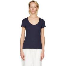 A.P.C. | A.P.C. Navy Paula T-Shirt | Clouty