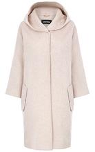 La Reine Blanche   Пальто с капюшоном   Clouty