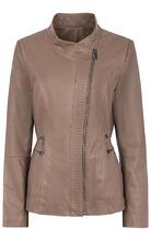 Le Monique | Удлиненная кожаная куртка | Clouty