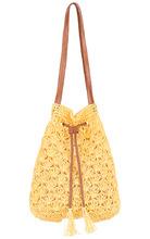 Maxval | Соломенная сумка-мешок | Clouty