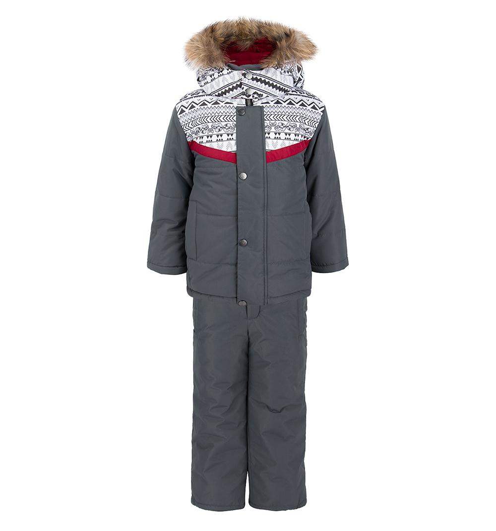 Батик | Комплект куртка/брюки Batik Илья, цвет: серый | Clouty